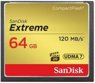 Compact Flash Extreme 64GB