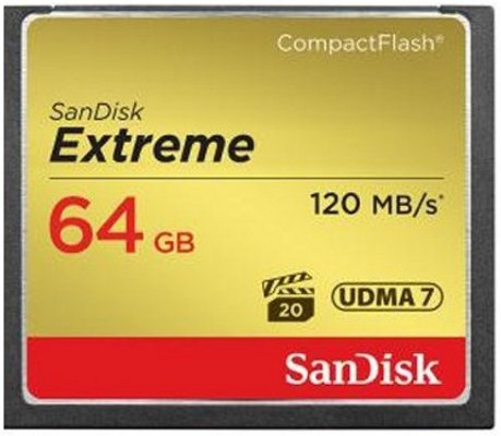 SanDisk Compact Flash Extreme 64GB