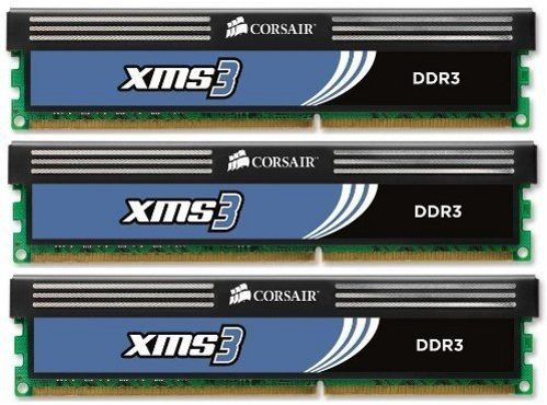 Corsair XMS3 DDR3 1600MHz 6GB CL9 (3x2GB)