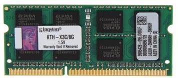 Kingston DDR3 1600MHz SODIMM 8GB