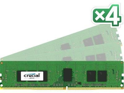 Crucial DDR4 2133MHz 32GB CL15 (4x8GB)