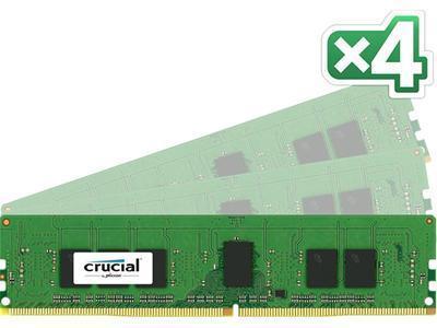Crucial DDR4 2133MHz 16GB (4x4GB)