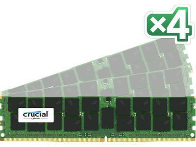 Crucial DDR4 2133MHz 64GB Kit (4x16GB)