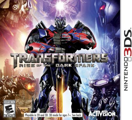 Transformers: Rise of the Dark Spark til 3DS