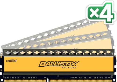 Crucial DDR3 BallistiX Tactical 1600Mhz 16GB (4x4GB)