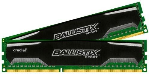 Crucial Ballistix Sport VLP DDR3 1600MHz 16GB CL9 (2x8GB)