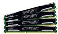 Crucial Ballistix Sport VLP DDR3 1600MHz 16GB CL9 (4x4GB)