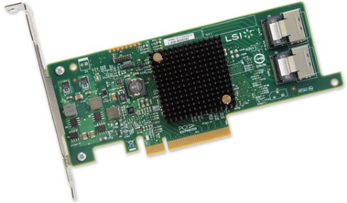 LSI SAS 9207-8l SGL
