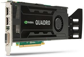 HP Nvidia K4000