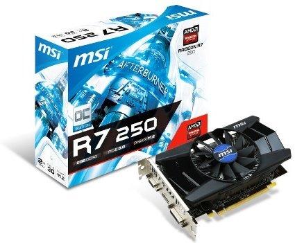 MSI Radeon R7 250 OC 2GB