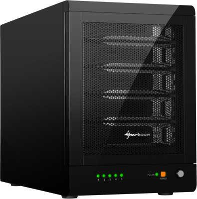 Sharkoon 5-Bay RAID-Station USB3.0 SATA