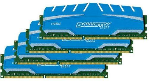 Crucial Ballistix Sport XT DDR3 1866MHz 32GB CL10 (4x8GB)