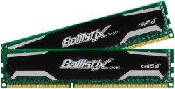 Crucial Ballistix Sport DDR3 1600MHz 16GB CL9 (2x8GB)