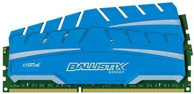 Crucial Ballistix Sport XT DDR3 1600MHz 16GB CL9 (2x8GB)