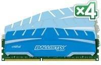 Crucial Ballistix Sport XT DDR3 1600MHz 16GB CL9 (4x4GB)