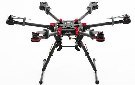 DJI Spreading Wings S900 + A2 MCU