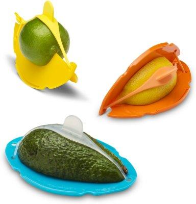 Fruktbeholder i assorterte farger