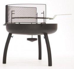 Fyrfat 60cm 3 ben m/grillrist