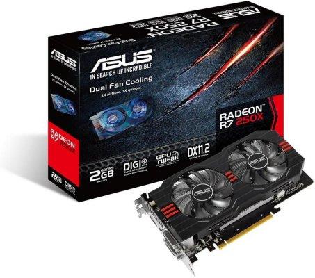 Asus Radeon R7 250X 2GB