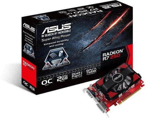 Asus Radeon R7 250 2GB OC