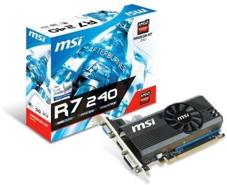 MSI Radeon R7 240 LP