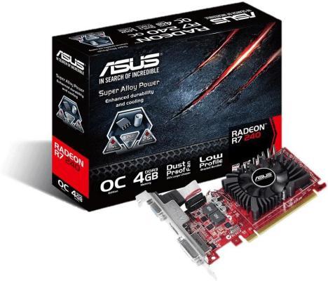 Asus Radeon R7 240 LP 4GB