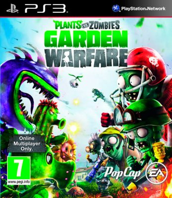 Plants vs. Zombies: Garden Warfare til PlayStation 3