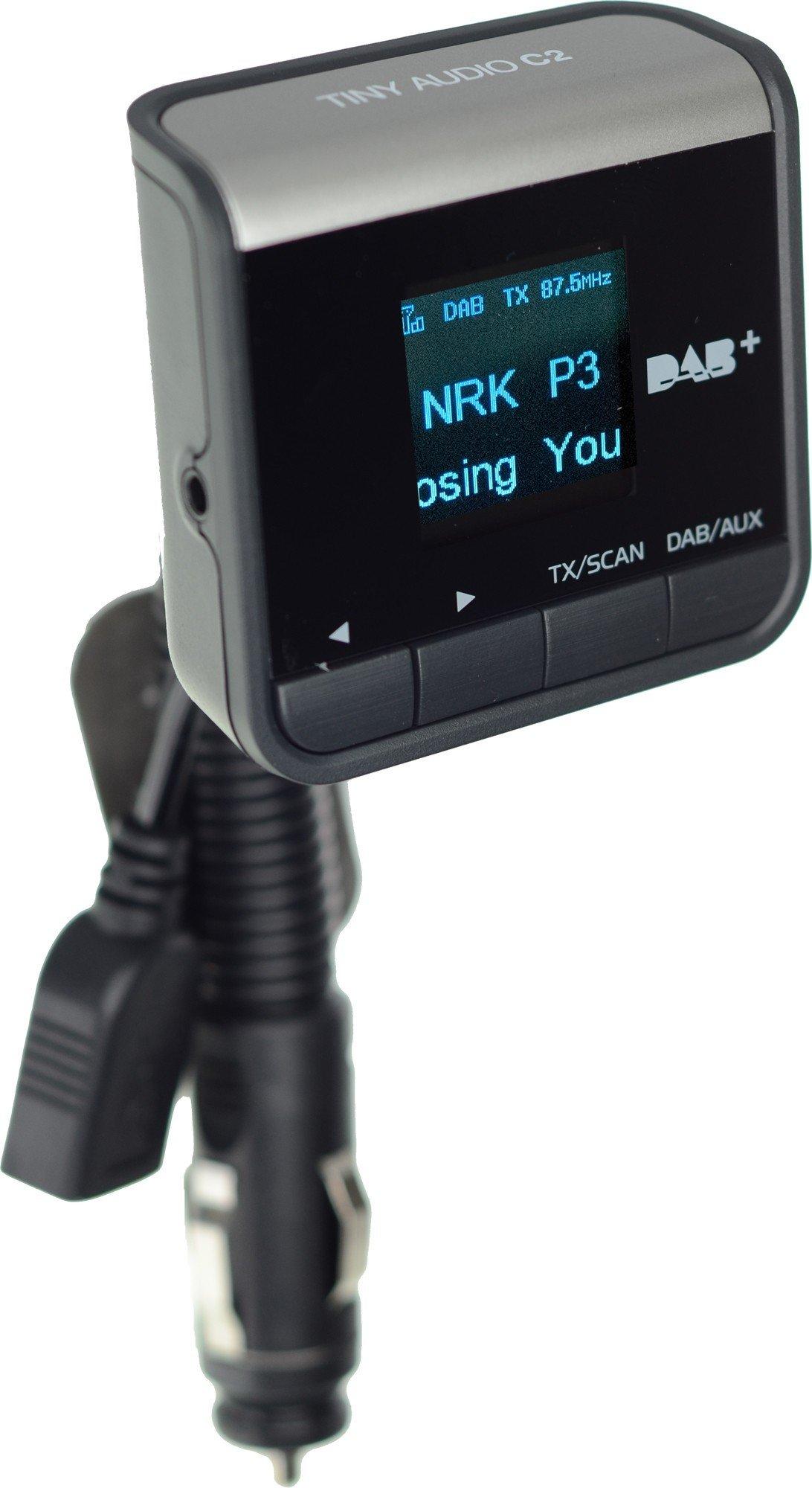 Tiny Audio C2 DAB adapter Test Tek.no