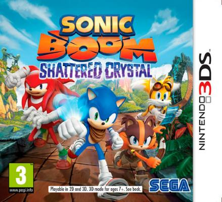 Sonic Boom: Shattered Crystal til 3DS