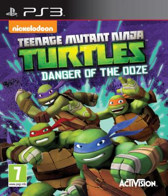 Teenage Mutant Ninja Turtles: Danger of the Ooze til PlayStation 3