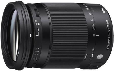 Sigma 18-300mm f/3.5-6.3 OS HSM C for Pentax