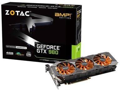 Zotac GeForce GTX 980 AMP! Edition