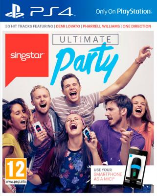 Singstar: Ultimate Party til Playstation 4