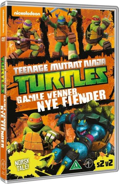 Teenage Mutant Ninja Turtles: Gamle venner, nye fiender