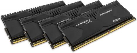 Kingston HyperX Predator DDR4 2400MHz CL12 16GB (4x4GB)