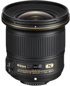 Nikon 20mm F1,8G AF-S