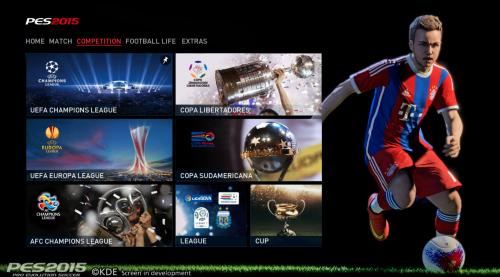 Pro Evolution Soccer 2015 til PC