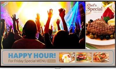 Samsung Public Display TV RM40D