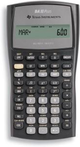 Texas Instruments TI-BA II Plus