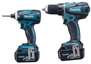 Makita DLX2014 (2x4,0Ah) Kit drill og slagtrekker