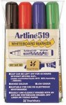Artline Whiteboardpenn 519 Sett