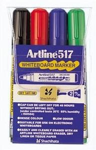 Artline Whiteboardpenn 517 Sett
