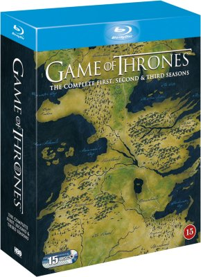 Game of Thrones: Sesong 1-3