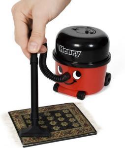 Henry Skrivebord-støvsuger