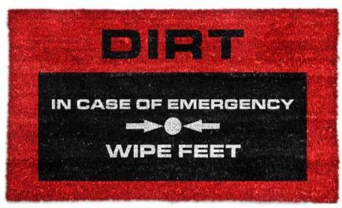 Emergency Dørmatte