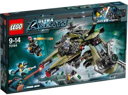 LEGO Agents Orkankupp 70164