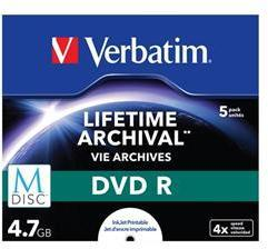 Verbatim M-Disc DVD-R 4.7GB