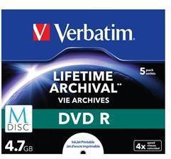 Verbatim M-Disc DVD-R 4.7GB