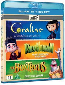 Coraline/ParaNorman/Boksetrollene