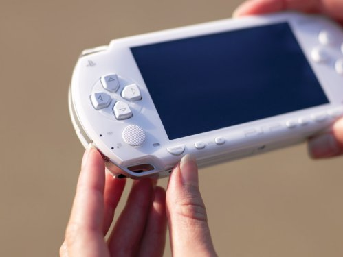 Sony PSP (Ceramic White)